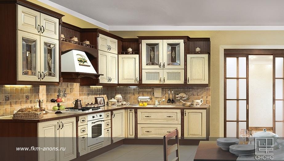 Кухня слоновая кость фото
